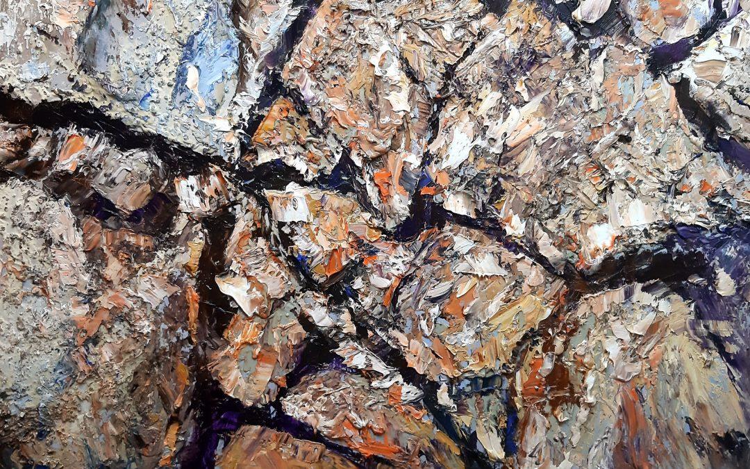 "Exhibition ""Stinje – Rocks"", 24.7.2021. chapel st. Ante in Postira"